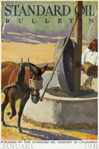 Magazines Illustrated by Maynard Dixon Cover Illustration Maynard DixonStandard Oil Bulletin January 1931