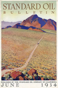 Magazines Illustrated by Maynard Dixon Cover Illustration Maynard Dixon Standard Oil BulletinJune 1934